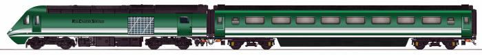 Rail Charters Services HST livery visual