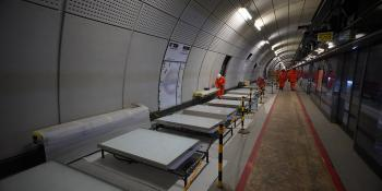 Crossrail platform at Bond Street