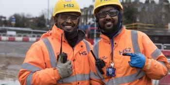 High Speed 2 has signed the Race at Work Charter