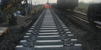 Level crossing repairs at Kisbeys