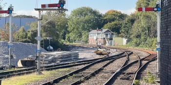 The station approaches at Bridlington