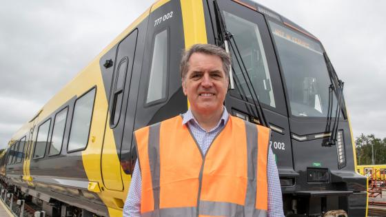 The first Class 777 has been handed over to Liverpool City Region Combined Authority