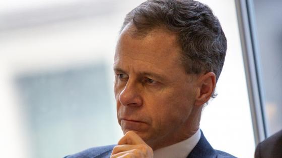 ORR CEO John Larkinson